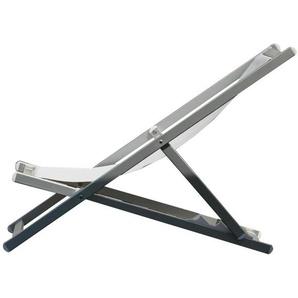 Jan Kurtz - Rimini Deckchair - Cadre: Aluminium weiß -