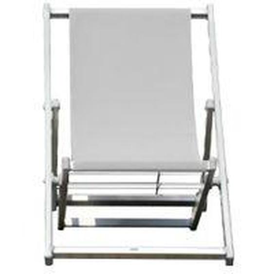 Jan Kurtz - Rimini Deckchair, weiß / weiß