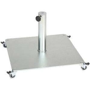Jan Kurtz - Schirmständer Stand - Eisen Quadratisch mit Rollen 60x60 cm