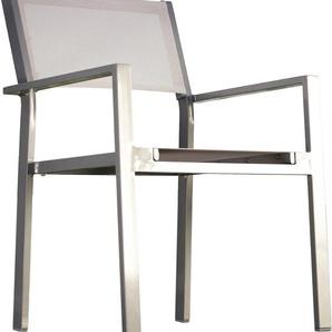 jankurtz Armlehnstuhl cubic B/H/T: 57 cm x 85 45 cm, Gitterwebstoff BATYLINE weiß Armlehnstühle Stühle Sitzbänke