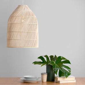 Java hoher Lampenschirm, Rattan