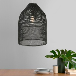 Java hoher Lampenschirm, Schwarz
