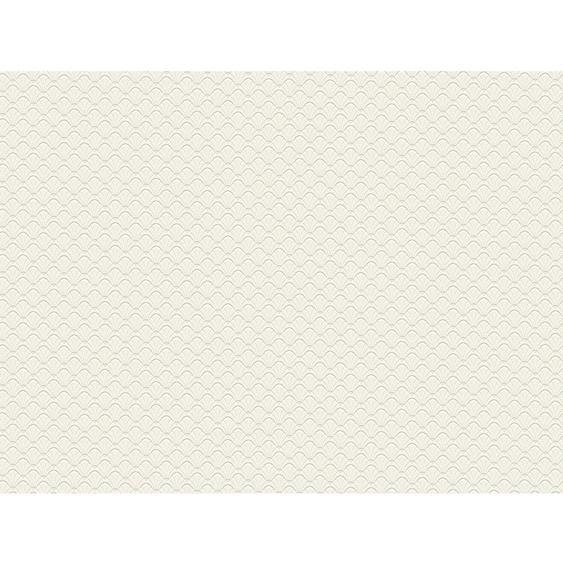 Jette Joop Vliestapete Muschel Muster Creme Weiß