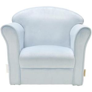 Jimmylee: Sessel, Blau, B/H/T 39 44 50
