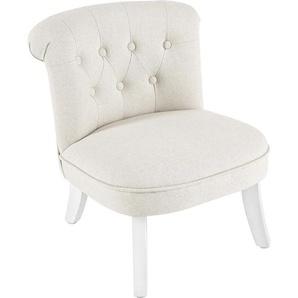 Jimmylee: Sessel, Beige, B/H/T 50 54 45,5
