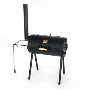 Joes BBQ 16 Sloppy Joe Smoker 115x55x145cm Stahl Schwarz