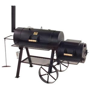 """Joe's BBQ Smoker 16"""" Longhorn Schwarz"""