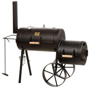 """Joe's BBQ Smoker 16"""" Wild West Schwarz"""