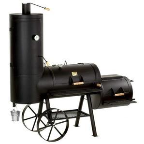 Joes BBQ Smoker 20 Chuckwagon Catering Schwarz