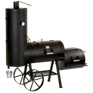 "Joe's BBQ Smoker 20"" Chuckwagon Schwarz"