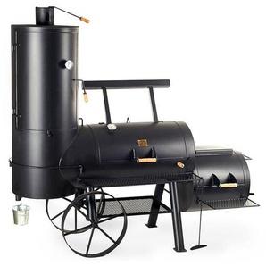 Joes BBQ Smoker 24 Chuckwagon Catering Schwarz