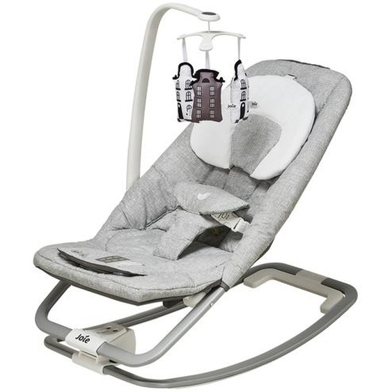 Joie Babywippe  Dreamer ¦ grau ¦ Gestell: Aluminium,  Bezug: 100% Polyester, Applikation: Kunststoff