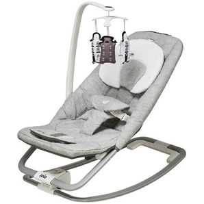 Joie Babywippe | grau | Gestell: Aluminium,  Bezug: 100% Polyester, Applikation: Kunststoff | Möbel Kraft