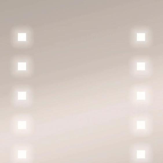jokey Badspiegel Capella I B/H/T: 50 cm x 70 5,5 silberfarben und Spiegelschränke Badmöbel Badaccessoires SOFORT LIEFERBARE Möbel