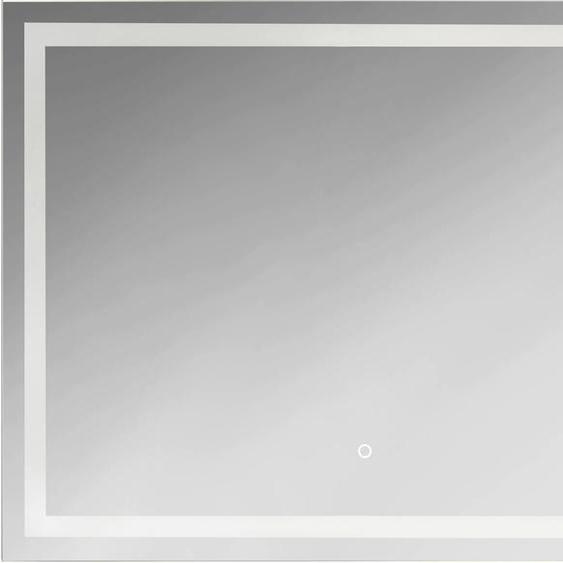 jokey Badspiegel FrameLight III B/H/T: 80 cm x 60 3 silberfarben und Spiegelschränke Badmöbel Badaccessoires SOFORT LIEFERBARE Möbel