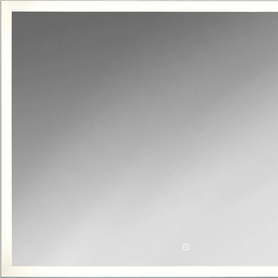 jokey Badspiegel Sora B/H/T: 80 cm x 60 4,5 silberfarben und Spiegelschränke Badmöbel Badaccessoires SOFORT LIEFERBARE Möbel