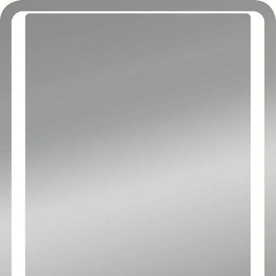 jokey LED-Lichtspiegel Roomlight I, 60x80 B/H/T: 60 cm x 80 2,9 silberfarben Badspiegel und Spiegelschränke Badmöbel Badaccessoires SOFORT LIEFERBARE Möbel
