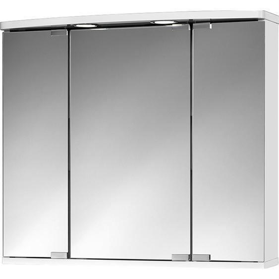 Jokey Spiegelschrank Doro LED 68 cm x 60 cm x 22 cm Weiß EEK: A+