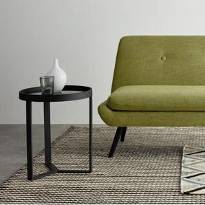Jonny 2-Sitzer Sofa, Vintage-Olivgruen