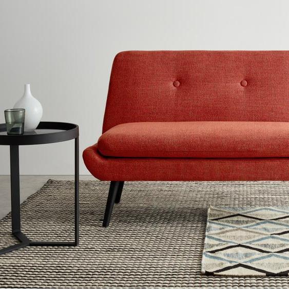 Jonny 2-Sitzer Sofa, Vintage-Orange