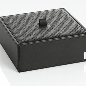 Joop Aufbewahrungsbox Bathline B/H/T: 20,5 cm x 7,5 schwarz Körbe Boxen Regal- Ordnungssysteme Küche Ordnung