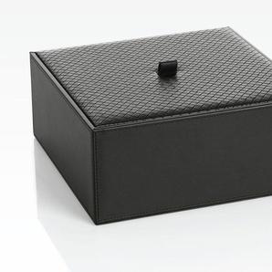 Joop Aufbewahrungsbox Bathline B/H/T: 25,5 cm x 10,5 schwarz Körbe Boxen Regal- Ordnungssysteme Küche Ordnung
