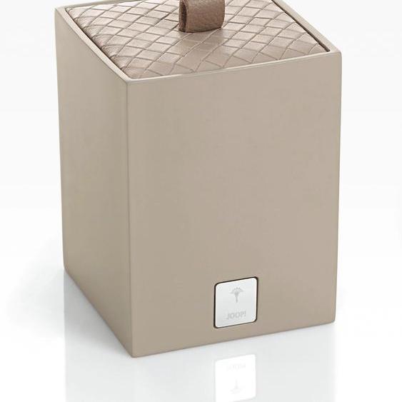 Joop Aufbewahrungsbox BATHLINE (B/T/H): 7,5/7,5/11 cm, 7,5x7,5x11 cm grau Boxen Truhen, Kisten Körbe Schlafzimmer Aufbewahrungsboxen