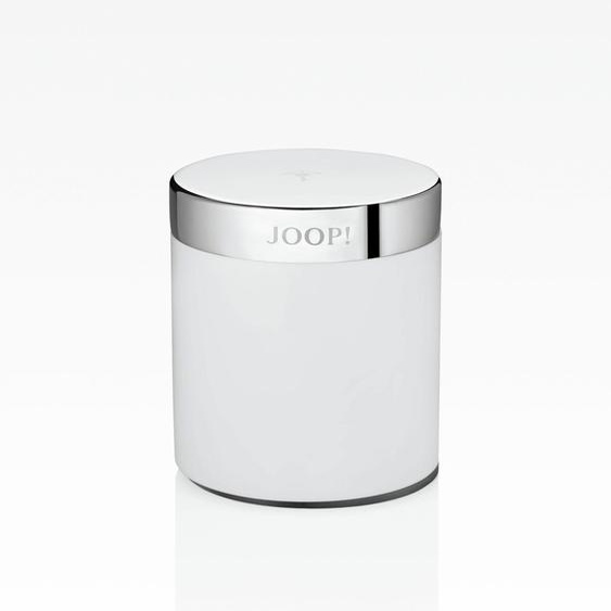 Joop Aufbewahrungsbox CHROMELINE (Ø/H): 7,5/9,0 cm, 7,5x7,5x9 cm weiß Boxen Truhen, Kisten Körbe Schlafzimmer Aufbewahrungsboxen