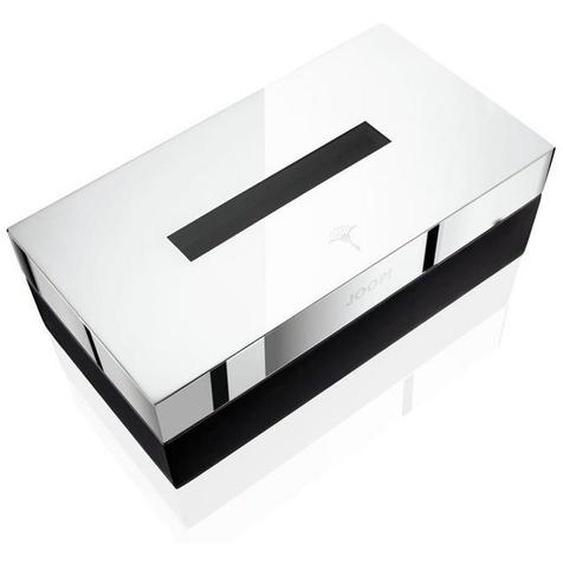 Joop! Aufbewahrungsbox , Schwarz, Chrom , Kunststoff , 23x12x8 cm