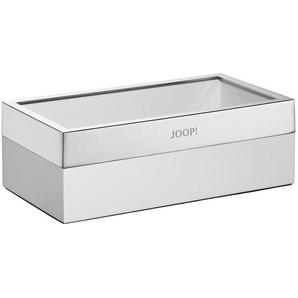 Joop!: Box, Chrom, Weiß, B/H/T 12,5 8,5 23,6