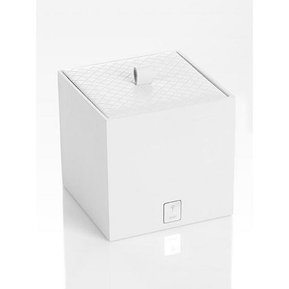 Joop! BOX MIT Deckel , Weiß , Kunststoff , 11x11x11 cm