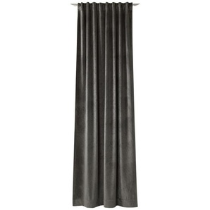 Joop! Fertigvorhang blickdicht 130/250 cm , Braun , Textil , Uni , 130x250 cm