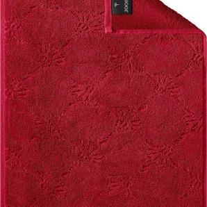 Gästehandtücher »Uni Cornflower«, Joop!, mit gewebtem Cornflower Muster
