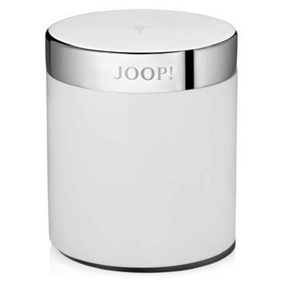 JOOP! Kosmetikdose, Weiß / Chrom, Edelstahl