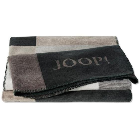 JOOP! Kuscheldecke, Braun, Mischgewebe 150 x 200 cm