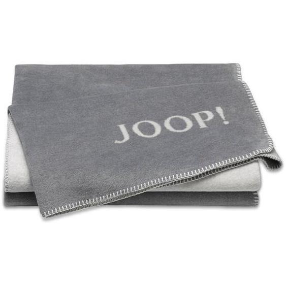 JOOP! Kuscheldecke, Graphit, Mischgewebe 150 x 200 cm