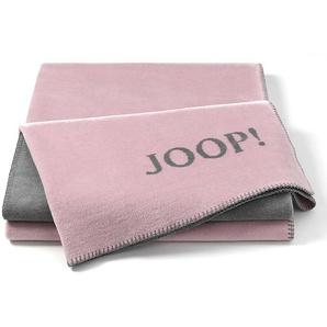 JOOP! Kuscheldecke, Rose, Mischgewebe 150 x 200 cm