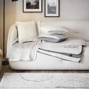 Joop! Wendedecke 150/200 cm Grau , Textil , Uni , 150x200 cm