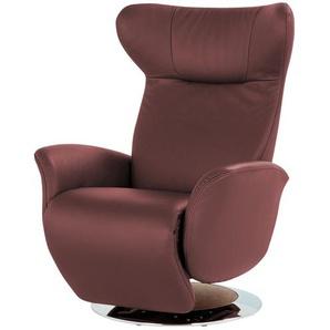 JOOP! Relaxsessel aus Leder  Lounge 8140 ¦ rosa/pink
