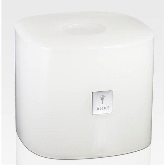 Joop! Taschentuchbox , Weiß , Kunststoff , 16.2x13.5 cm