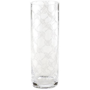 Joop! Vase Allover , Transparent , Glas , zylindrisch , 30 cm , Made in Germany , mundgeblasen , Dekoration, Vasen