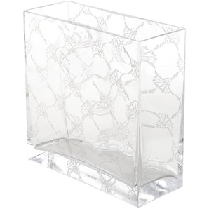 JOOP! Vase, Klar, Glas