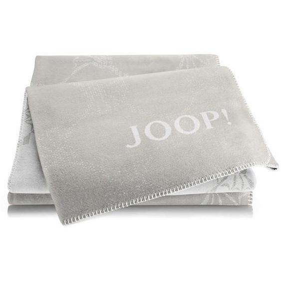 Joop! Wohndecke 150/200 cm Beige , Natur, Sand , Textil , Blume , 150 cm