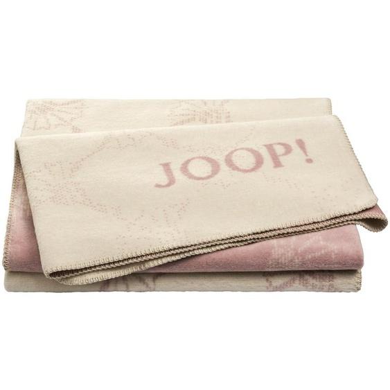 JOOP! Wohndecke  Joop!Cornflower Double ¦ rosa/pink ¦ 58% Baumwolle, 35% Polyacryl, 7% Polyester