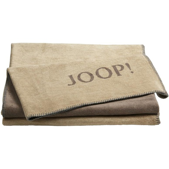 JOOP! Wohndecke  JOOP! Melange-Doubleface ¦ braun ¦ 58% Baumwolle, 35% Polyacryl, 7% Polyester