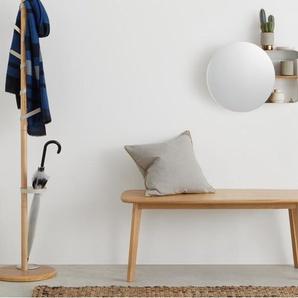 Joris Regal mit Spiegel, Metall und Holz in Ecru