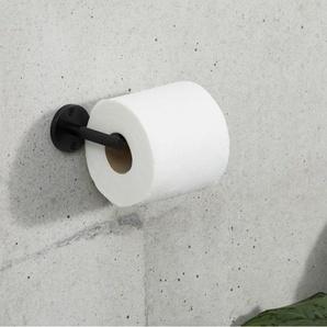 Jovi WC-Rollenhalter, Schwarz