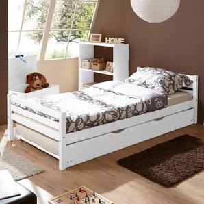Jugendbett mit Schublade, 90 x 200 cm Teo