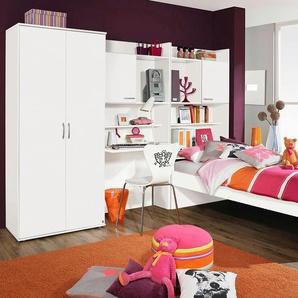PACK´S Jugendzimmer-Set , silber, Mit 2-trg. Kleiderschrank, »Emilio«, Rauch