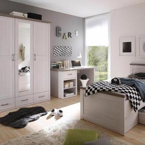 Jugendzimmer-Set , weiß, »Marmstorf«, mit Schubkästen,